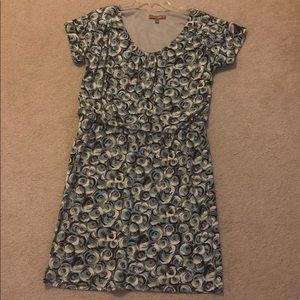 Printed Ellen Tracy Dress Large